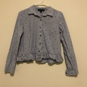 Tommy Hilfiger cropped button down